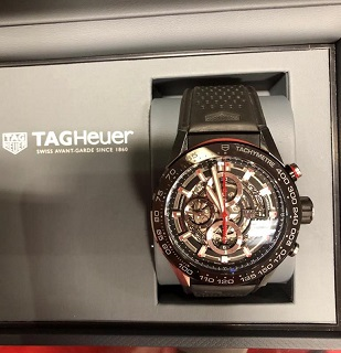 LSH machinery Auctions -  Private Treaty Sale Ryan Reid TAGHeuer Watch