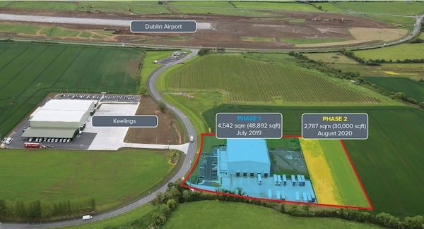 A unique, state of the art cold storage facility in Dublin has been brought to the market by LSH