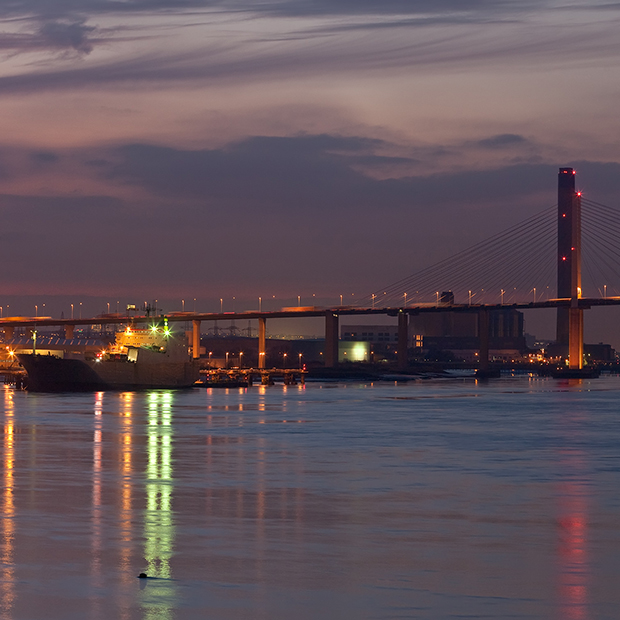 QE2 Bridge Thurrock